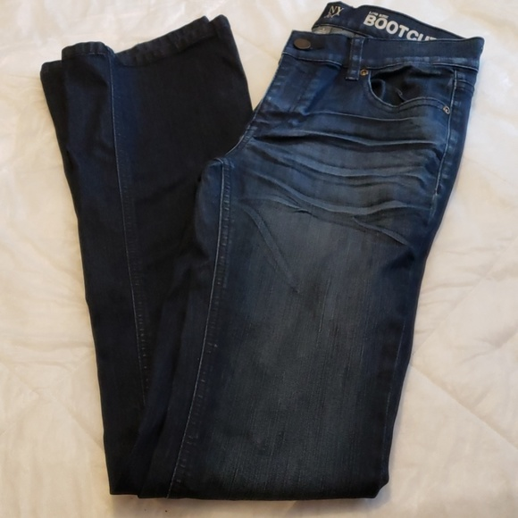 New York & Company Denim - NY&Co. Low Rise Boot Cut Jeans Womens 0